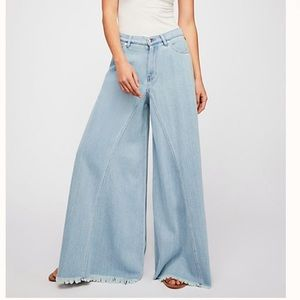 Free People Pirouette Wide-Leg Pants